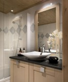 Alpe d'Huez  Location Appartement Luxe Acroate Salle De bain