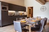 Alpe D'Huez Location Appartement Luxe Amarite Salle A Manger
