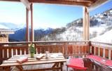 Alpe d'Huez Location Chalet Luxe Abenekite Vue