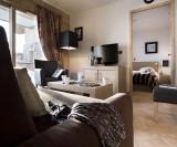 Alpes D'Huez  Location Appartement Luxe Acroitie Salon