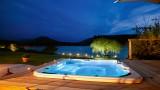 Annecy Location Villa Luxe Pierre De Canelle Exterieur Nuit 1