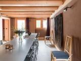 Argentière Location Chalet Luxe Calcite Table Manger