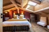 Argentière Location Chalet Luxe Calderite Chambre Master