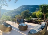 Cannes Luxury Rental Villa Coronille Garden Furniture