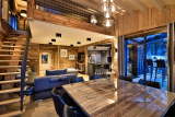 Chamonix Location Appartement Luxe Courase Salle A Manger 2