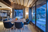 Chamonix Location Appartement Luxe Courase Salle A Manger