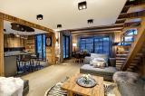 Chamonix Location Appartement Luxe Courase Séjour