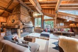 Chamonix Luxury Rental Chalet Coquelois Living Area 2