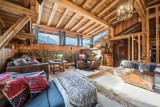 Chamonix Luxury Rental Chalet Coquelois Living Area 4
