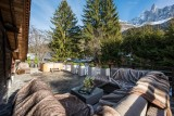 Chamonix Luxury Rental Chalet Coquelois Terrace 2