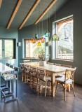 Chamonix Luxury Rental Chalet Coradu Dining Room 2