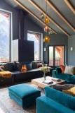 Chamonix Luxury Rental Chalet Coradu Living Room 2