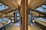 Chamonix Luxury Rental Chalet Coraudin Bedroom