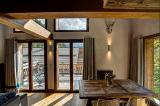 Chamonix Luxury Rental Chalet Coraudin Dining Room