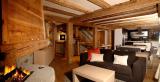 Chamonix Location Chalet Luxe Corise Séjour