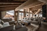 Chamonix Luxury Rental Chalet Cornite Living Area