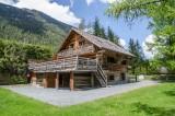 Chamonix Location Chalet Luxe Coronite Jardin