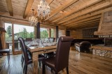 Chamonix Location Chalet Luxe Coronite Salle A Manger 2