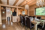 Chamonix Location Chalet Luxe Coronite Salle A Manger