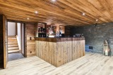 Chamonix Luxury Rental Chalet Coroudin Bar 2