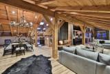 Chamonix Luxury Rental Chalet Coroudin Living Area 3