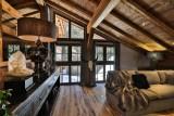 Chamonix Luxury Rental Chalet Coroudin Living Area