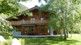 Chamonix Location Chalet Luxe Corundite Jardin