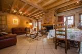 Chamonix Location Chalet Luxe Corundite Séjour 2
