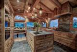 Chamonix Luxury Rental Chalet Courose Kitchen