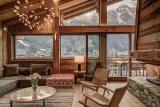 Chamonix Luxury Rental Chalet Courose Living Room 2