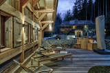 Chamonix Luxury Rental Chalet Courose Terrace 2