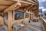 Chamonix Luxury Rental Chalet Courose Terrace