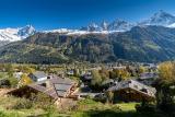 Chamonix Luxury Rental Chalet Courose View