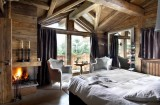 Chamonix Location Chalet Luxe Couruse Chambre