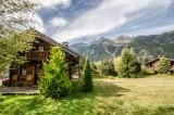 Chamonix Location Chalet Luxe Crossite Jardin