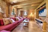 Chamonix Location Chalet Luxe Palandra Salon