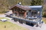 Chamonix Location Chalet Luxe Palandro Extérieur