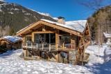Chamonix Mont Blanc Rental Chalet Luxury Paradamete Outside