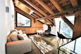 Chamonix Mont Blanc Location Chalet Luxe Paradamate Séjour-1