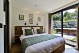 Chamonix Mont Blanc Rental Chalet Luxury Paradamete Bedroom