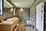 Chamonix Mont Blanc Rental Chalet Luxury Paradamete Bathroom 1
