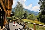 Chamonix Mont Blanc Rental Chalet Luxury Paradamete Terrace