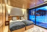 Chamonix Mont Blanc Location Chalet Luxe Paradamote Chambre