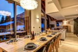Chamonix Mont Blanc Location Chalet Luxe Paradamote Salle A Manger 1