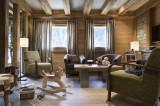 Châtel Rental Apartment Luxury Cubanite Reception