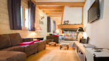 Chatel Luxury Rental Chalet Chalcantite Living Area