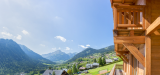 Chatel Luxury Rental Chalet Chalcocyanite View