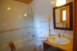 Chatel Luxury Rental Chalet Chalcophanite Bathroom 2