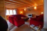Chatel Luxury Rental Chalet Chalcophanite Living Area 2