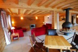 Chatel Luxury Rental Chalet Chalcophanite Living Area
